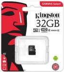 Kingston microSD C10 UHS-I Canvas Select [SDCS/32GBSP]