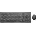 Lenovo 500 Wireless Combo Keyboard & Mouse-RU
