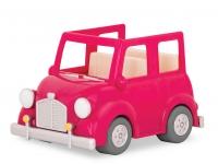 Li`l Woodzeez Транспорт - Рожева машина з валізою