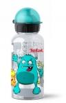 Tefal Дитяча пляшка для пиття Drink2go Tritan 0,4 л [блакитна/декор
