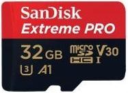 SanDisk Extreme Pro microSD V30 A1 UHS-I U3 [SDSQXCG-032G-GN6MA]