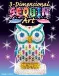 Sequin Art Набір для творчості 3D New Owl