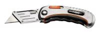 Neo Tools 63-711 Нiж складаний з фiксатором та трапецивидним лезом