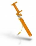 Kit: Монопод для Селфі Pocket Wired Selfie with Mirror, orange