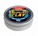PAULINDA Розумний пластилін Thinking Clay світиться у темряві 30г (синій)
