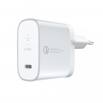 Belkin Home Charger (27W) Power Delivery/Quick Charge 4.0, USB-C 1.2m, silver