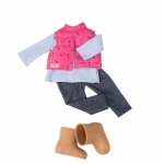 Our Generation Набір одягу для ляльок - Жилет з брюками