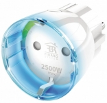 Fibaro Розумна розетка Wall Plug, Z-Wave, 230V, макс. 11А, 2.6кВт, біла