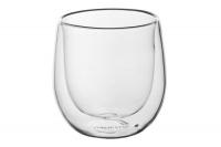 ARDESTO Набор чашек с двойными стенками для американо, 120 мл, 2 шт, боросиликатное стекло