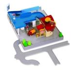 DRIVEN Ігровий набір POCKET SERIES DINE & DRIVE PIT STOP