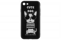 WK WPC-087 для iPhone 7/8 [Cute Dog Black (681920360728)]