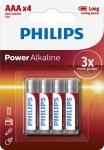 Philips Power Alkaline [LR03P4B/10]