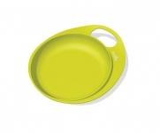 Nuvita Тарілка для годування Easy Eating (пласка 2шт.) [NV8451Lime]