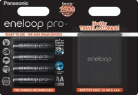 Panasonic Eneloop Pro + Case [BK-3HCDEC4BE]