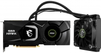 MSI GeForce RTX2080 8GB GDDR6 HAWKX liquid cooling GPU + air cooling memory and VRMs