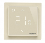 Danfoss Терморегулятор DEVIreg Smart (+ 5 + 45С), Wi-Fi, 85 х 85мм, макс. 15A, слонова кістка
