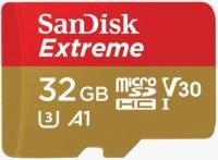 SanDisk Extreme microSD V30 A1 UHS-I U3 [SDSQXAF-032G-GN6AA]