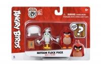 Jazwares Ігрова фігурка Angry Birds ANB Mission Flock Ред і Сільвер