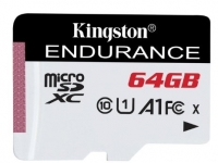 Kingston High Endurance microSD [SDCE/64GB]