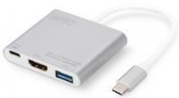 Digitus USB Type-C Multi Adapter 4K 30Hz HDMI, USB 3.0, USB-C