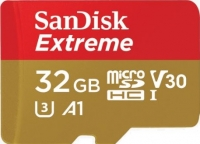 SanDisk Extreme microSD V30 A1 UHS-I U3 [SDSQXAF-032G-GN6MA]