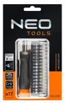 Neo Tools 04-228 Насадки прецизiйнi з тримачем, набiр 17 шт.