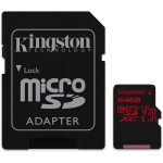 Kingston Canvas React microSD [SDCR/64GB]