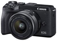 Canon EOS M6 Mark II + 15-45 IS STM + EVF Kit Black