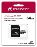 Transcend High Endurance microSDXC 330S [TS64GUSD330S]