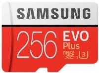 Samsung EVO Plus microSD C10 UHS-I [MB-MC256GA/RU]