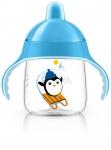 Avent Чашка-непроливайка з твердим носиком 260 мл 12+ (блакитна)