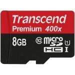 Transcend microSDXC/SDHC Class 10 UHS-I 300x (Premium) [TS8GUSDU1]