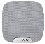 Ajax Бездротова кімнатна сирена HomeSiren, Jeweller, 105 дБ, 3V CR123A, біла