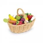 Janod Ігровий набір - Кошик із овочами і фруктами (24 ел.)