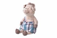 Same Toy Свинка в комбінезоні (45 см)