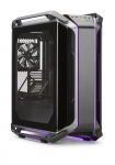 Cooler Master Cosmos C700M,Curved Tempered Glass Side Panel