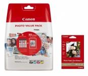 Canon Комплект No.481: картриджи CLI-481+ бумага PP-201 50 л