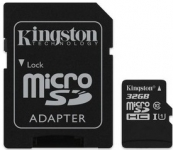 Kingston microSD C10 UHS-I Canvas Select [SDCS/32GB]