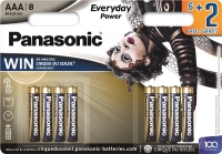 Panasonic EVERYDAY POWER AAA [LI 8 ALKALINE Cirque du Soleil]