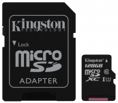 Kingston microSD C10 UHS-I Canvas Select [SDCS/128GB]