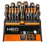 Neo Tools 04-210 Набiр вiкруток i насадок, 37 шт.