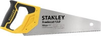 Stanley Ножовка по дереву 380мм 11TPI закаленный зуб TRADECUT нержавеющая сталь