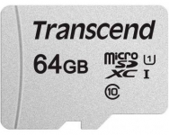 Transcend microSDXC/SDHC 300S [TS64GUSD300S-A]