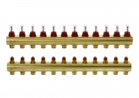 Danfoss Колектор FHF 12+12 з ротаметрами