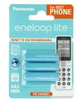 Panasonic Eneloop Lite AAA [BK-4LCCE/3DE]
