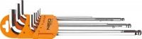 Neo Tools 09-525 Ключi шестиграннi, 1.5-10 мм, набiр 9 шт