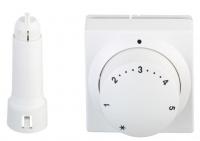Danfoss Терморегулятор 5068, підключення RA, виносний датчик, регулювання 8-28 ° C (білий)