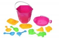 Same Toy Набір для гри з піском Рожевий (12 од.)