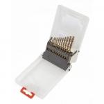 Verto Свердло по металу HSS-G,  1.5-6.5 мм, набір 13 шт.