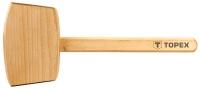 Topex 02A050 Киянка дерев'яна, 500 г, дерев'яна рукоятка